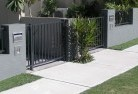 Abba River Boundary fencing aluminium 3old